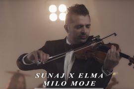 SUNAJ X ELMA HADZIC MILO MOJE OFFICIAL COVER VIDEO 2020