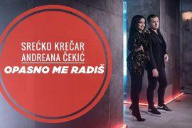 Sreko Krear Andreana eki Opasno me radi Official Video 4K